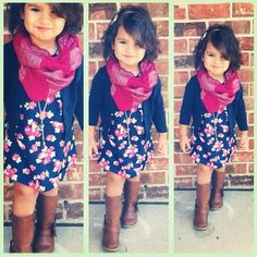 Leuke herfst outfit voor een meisje