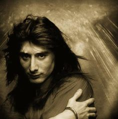 Steve Perry, former lead singer of the band Journey career and music. Singer and songwriter has done many projects with other musicians. Gorgeous Men, Beautiful People, Gregg Rolie, Journey Band, Journey Albums, Rock Star Hair, Journey Steve Perry, Music Icon, Music Music