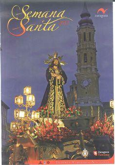 Cartel Semana Santa Zaragoza 2012
