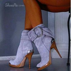 Cool Show Suede Side Buckle High Heel Boots . Cool Show Suede Side Buckle High Heel Boots Platform High Heels, High Heel Boots, Heeled Boots, Bootie Boots, Ankle Boots, Platform Boots, Suede Booties, Bow Boots, Stiletto Boots