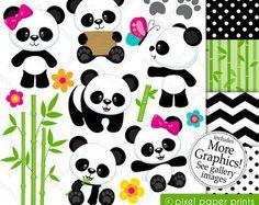 Imágenes Prediseñadas de Panda bebé