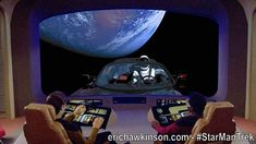 """Caption Contest! - I had a quick bit of fun with Photoshop this morning. I think many of you my dear nerdy friends might have some fun with this too. So comment away! """"WTF is it Data?"""" - #captioncontest #starman #starmantrek #tidehawk - Can you come with a better caption? @startrektnc @elonmusk @Tesla @BrentSpiner @Trekspertise #trekmemes"""