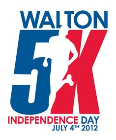Creative Roots Design Group | Walton Independence Day 5K - Logo Design
