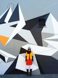 Geometric Mural Part 92