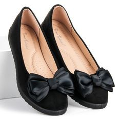 Semišové balerínky s mašličkou SBHX-17B Rwby, Chanel Ballet Flats, Omega, Shoes, Fashion, Moda, Zapatos, Chanel Ballerina Flats, Shoes Outlet