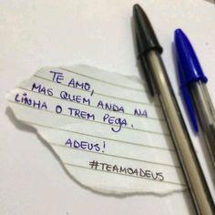 ê trem bão. #teamoadeus #teamomas  #teamomasadeus   *sugestão enviada por um seguidor.