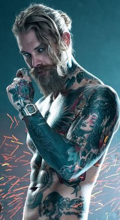 (ultimate) Super Trending Long Hairstyles for Men Super Inspirational Long Hairstyles Men Can Try To Make Women Jealous!Super Inspirational Long Hairstyles Men Can Try To Make Women Jealous! Baby Boy Hairstyles, Try On Hairstyles, Trendy Hairstyles, Black Hairstyles, Josh Mario John, Hair And Beard Styles, Long Hair Styles, Sexy Tattooed Men, Bearded Tattooed Men