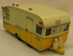 Vintage Shasta Toy Trailer-omg! I'll take this for Christmas-LOVE IT