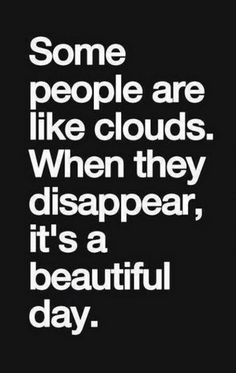 This is funny but I like clouds