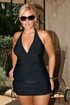 18 Plus Size Swimdresses to Rock - Plus Size Swimsuits - alexawebb.com