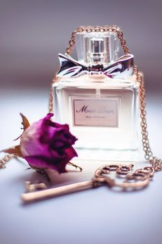 Good morning Mary Ann, I choose a nice bottle of perfume for you today ~♥ ~February Lovely Perfume, Best Perfume, Dior Perfume, Ode An Die Freude, Parfum Paris, Miss Dior, Key To My Heart, Makeup Products, Woman Cave
