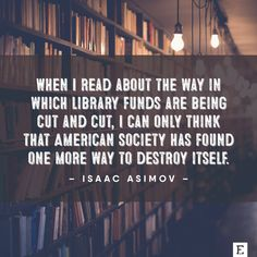 Isaac Asimov is right #libraries