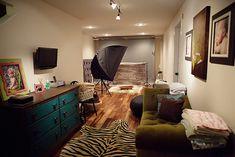 setup for studio