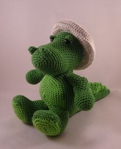 Crochet Dinosaur ... I want to learn how to do this