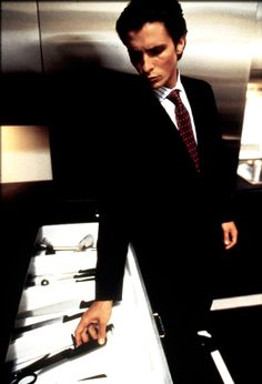 American Psycho (2000)... This was the movie that did it for me with Mr. BALE.... Not so much anymore, but still beautiful  in this movie... minus the psycho part...
