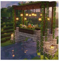 Minecraft Garden, Minecraft House Plans, Minecraft Farm, Minecraft Houses Survival, Easy Minecraft Houses, Minecraft House Tutorials, Minecraft House Designs, Minecraft Construction, Minecraft Blueprints