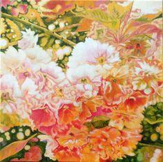 Acrylic on canvas#garden love#rithva