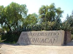 entrance to Teotihuacan