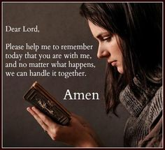 Handle it together #Faith #Prayer