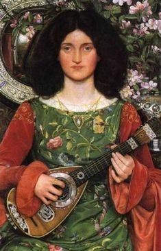 "Kate Elizabeth Bunce      British      1856 - 1927      ""Melody (Musica)"""