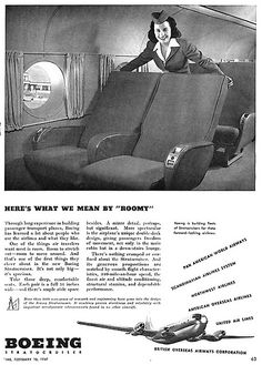 1947- Boeing 377 Stratocruiser by x-ray delta one, via Flickr