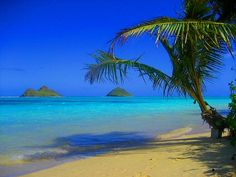 Lanikai Beach, Oahu.  The most beautiful place in the world.
