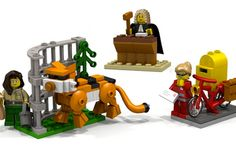 Girl Power Alert! LEGO Intros New Female Scientist Set via Brit + Co.