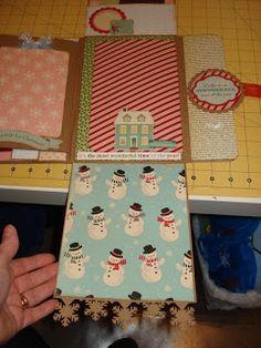 A Creative Operation: mini album paper bag