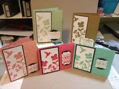 Variety of Cards with the Wildflower Meadow stamp and the new Stampin' Up! In Colors Wild Flower Meadow, Card Companies, Scrapbook Cards, Scrapbooking, Card Sketches, Color Card, Flower Cards, Stampin Up Cards, Note Cards