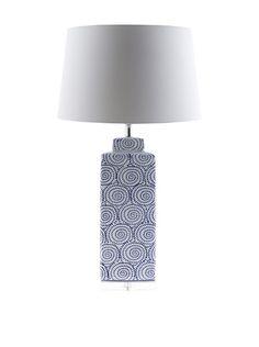 Surya Dunaway Table Lamp, Blue/White, http://www.myhabit.com/redirect/ref=qd_sw_dp_pi_li?url=http%3A%2F%2Fwww.myhabit.com%2Fdp%2FB012BQBVSK%3F