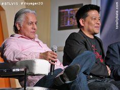 Robert Beltran and Garrett Wang - 14th Annual Star Trek Convention at the Rio Hotel and Casino in Las Vegas, August 8, 2015