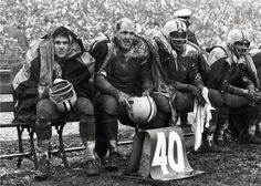 ray nitschke - Green Bay Packers - one of the most famous football pictures ever