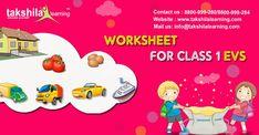 worksheet for class 1 EVS Worksheet For Class 2, First Grade Worksheets, First Grade Activities, Science Worksheets, First Grade Math, Printable Worksheets, Grade 1, Class 1 English, 3d Mode