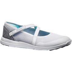 0db113136b Női sportgyalogló cipő PW 160 Br'easy, világosszürke, türkizkék NEWFEEL