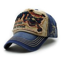 deacbbcf2da6f Gothic Style Skull Embroidery Decorated Do Old Summer Baseball Hat For Men Casquette  Baseball
