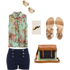 Dressy Summer Outfit - Polyvore