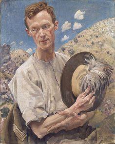 George LAMBERT   A sergeant of the Light Horse. (Lambert was a WW1 Australian war artist)