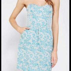 Kimichi Blue Urban Outfitters Bodice Dress