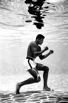 """Muhammad Ali (born Cassius Clay) aka """"The Greatest,"""" American professional boxer & social activist. Called the Sportsman of the Century, he was a cultural icon & the most famous athlete in the world. He was the 1st & only 3x lineal World Heavyweight Champion.  Known for his unorthodox fighting style, he had used catchphrases like """"float like a butterfly, sting like a bee,"""" employed techniques such as the Ali Shuffle & the rope-a-dope, and brought beauty, grace & skill to the sport. R.I.P."""