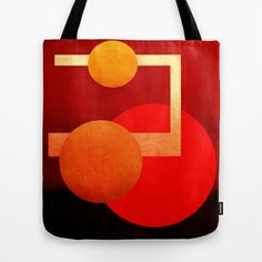 Formes 15 Tote Bag by ganech - $22.00