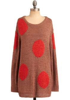 dots. Pair with leggings or skinny jeans