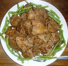 Goan Beef Tongue Roast Recipe ~ Goan Recipes n More