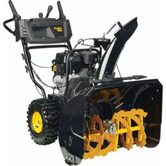 Poulan PRO PR270 27 in. 2-Stage Electric Start Snow Blower-961920090 - The Home…