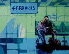 Zuzanna Walas, Arrivals, 2012 #art #contemporary #artvee