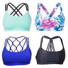 Workout Motivation!! Love these sports bras, so colorful and strappy! One of each please!