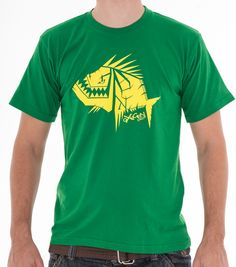 T-shirt : Reference Green - Yellow High quality 100% cotton pennie 155grs permanent colour screen-print : pvc free plastisol Fit : regular #clothingbrand #tshirt #actionsports #oxygendrop