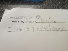 This prompt was rather presumptuous, wouldn't you say? | 21 Kids Who Are Too Literal For Their Own Good