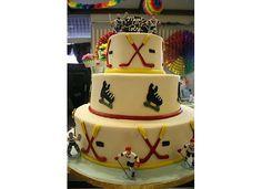 Hockey Bar Mitzvah Cake