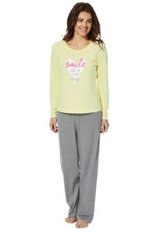 Lemon With Bunny Motif On Chest Sleeveless Matalan Womens Size 22 Pyjama Top