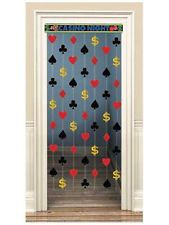 Casino Party Doorway Curtain - for passage door Casino Party, Fète Casino, Las Vegas Party, Vegas Theme, Casino Theme Parties, Party Themes, Birthday Parties, Party Ideas, 40th Birthday